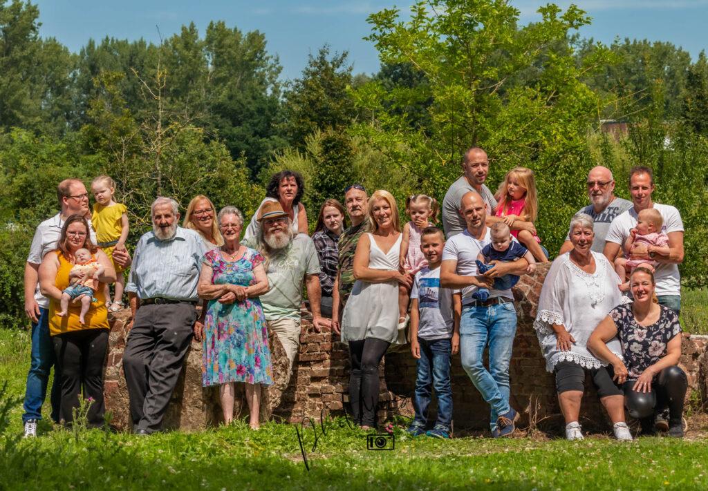 groepsfoto familiefoto
